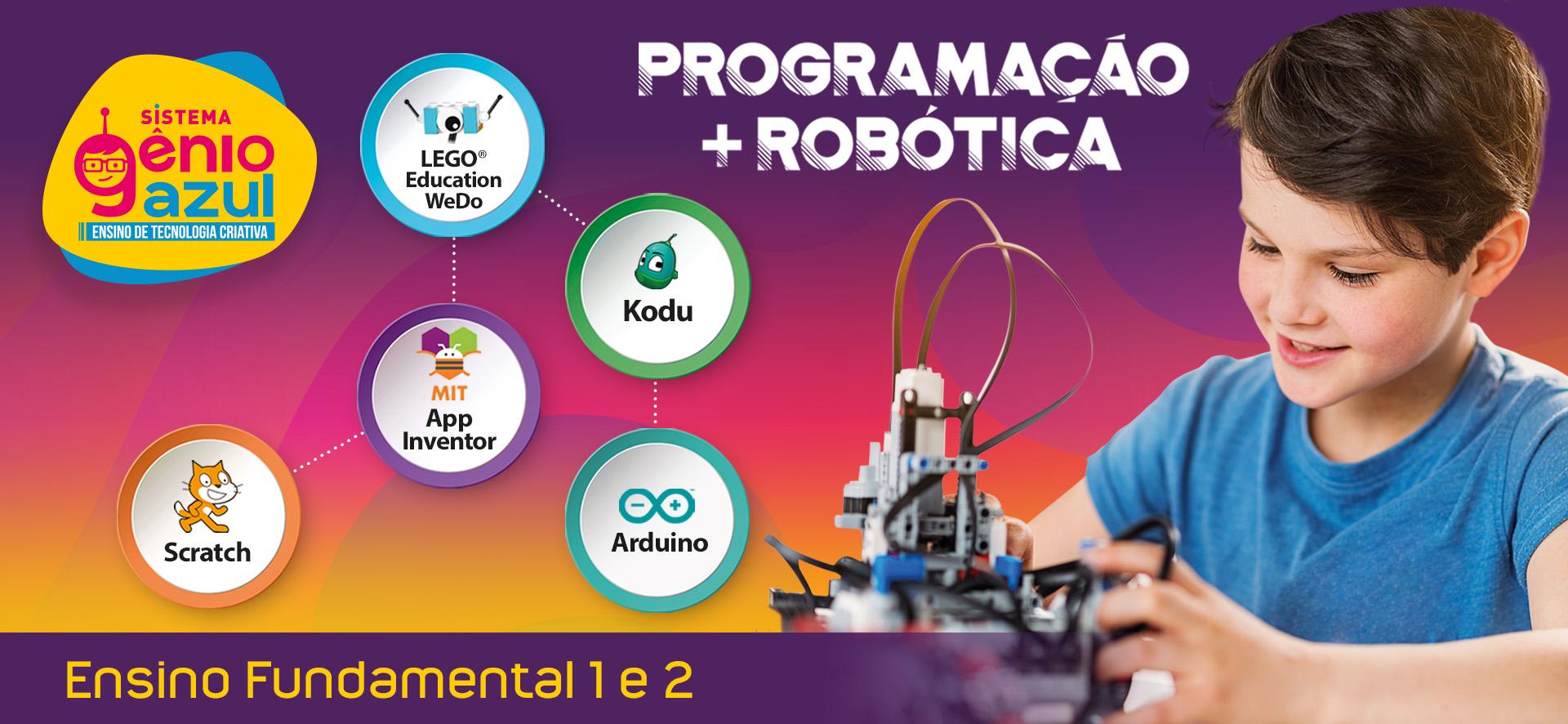 Sistema de ensino (kits robóticos)